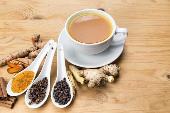 Chá Natural Para Emagrecer cravo canela e gengibre