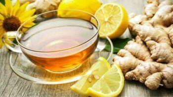 Chá de Limão Gengibre e Mel Pinterest.com